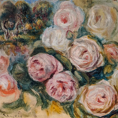"""Roses and Landscape"", Pierre Auguste Renoir (Joey Hinton) Tags: phoenix art museum pixel2 google android smartphone cellphone cameraphone phone arizona"