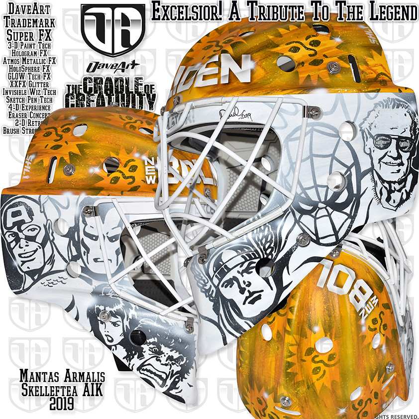 A Tribute To The Legend (DaveArt MaskGallery) Tags  armalis skellefteå aik 0643cc366c4db