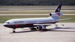 GNIUK DC-10 British Airways (Anhedral) Tags: airliner airplane gniuk douglas dc10 dc1030 britishairways landorcolours houston iah kiah trijet