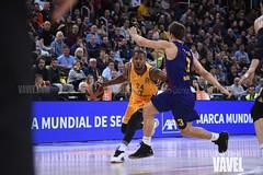 DSC_0277 (VAVEL España (www.vavel.com)) Tags: fcb barcelona barça basket baloncesto canasta palau blaugrana euroliga granca amarillo azulgrana canarias culé