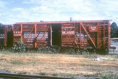 CB&Q Class SM-19B 53019 (Chuck Zeiler 54) Tags: cbq class sm19b 53019 burligton railroad stockcar stock car freight train edwardmderouin chz fugta