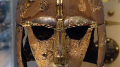 Sutton Hoo helmet (profzucker) Tags: sutton hoo suttonhoo shipburial hibernosaxon treasure britishmuseum bm england uk britain eastanglia king royal trade smarthistory art jewelry medieval middleages migrations history arthistory