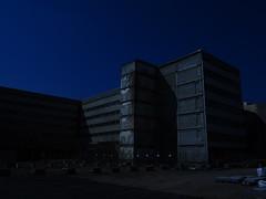 Berlin (Meg Kamiya) Tags: berlin germany deutschland olympus omd em10 light daylight colour blue building city demolition constructionsite hauptstadt europe