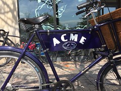Acme Pie Co. Bike (Mr.TinDC) Tags: bike bicycle pashley brooks basket cargobike deliveries