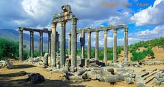 Happy New Year 2019. (Feridun F. Alkaya) Tags: euromos happynewyear history archaeology zeus temple templezeus mutluyıllar yeniyıl 2019