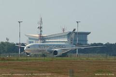Boeing 777F (srkirad) Tags: airplane aircraft airliner cargo boeing 777f b777f etihad airport aerodrom belgrade beograd serbia srbija nikolatesla tesla parked sunny planespotting morning summer