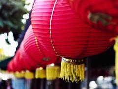 Lantern (awkward_annie) Tags: lantern lanterns bokeh bokehphoto bokehphotography chinatown losangeles california olympus olympusomd