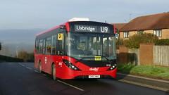 The Outskirts Link (londonbusexplorer) Tags: abellio london adl enviro 200 mmc 8162 sn66wno u9 uxbridge harefield hospital tfl buses
