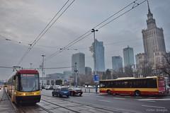 Pesa Swing (120Na) - 3166 - 24 - 21.12.2018 (VictorSZi) Tags: poland warsaw varsovia transport tram tramvai publictransport winter iarna december decembrie nikon nikond5300
