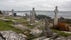 Celtic Crosses (string_bass_dave) Tags: ireland cemetery graveyard cross countyclare grave celticcross flickr ennistymon ie