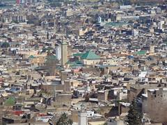 Fez (Eunus El Ya) Tags: morocco fez madina quarter mosque idris zawiya madrasa minaret arab berber marinid islamic architecture fes