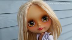 Holly (Motor City Dolly) Tags: custom ooak alpaca blythe reroot blonde translucent