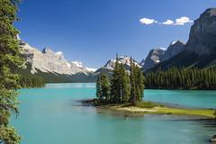 Spirit Island, Maligne Lake (birgitmischewski) Tags: spiritisland malignelake canadianrockies jaspernationalpark lake island jasper