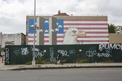 never forget (eb78) Tags: nyc newyorkcity brooklyn redhook 911 mural