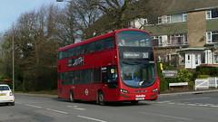 Hybrid 263 (londonbusexplorer) Tags: metroline travel volvo b5lh wrightbus gemini 3 vwh2027 lk64edl 263 highbury barn barnet hospital tfl london buses