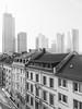 Old meets new in downtown Frankfurt (daniel.hardt.ffm) Tags: frankfurtammain blackandwhite bnw schwarzweiss monochrome wolkenkratzer skyscraper skyline downtown oldnew