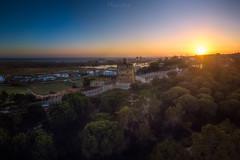 Torre del Catalán (flamesay) Tags: lepe huelva laantilla torredelcatalan torrealmenara andalucia atardecer sunset drone djimavic dji mavicpro aerea flamesay
