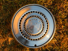 DSCN8455 (Hubcaps LV) Tags: ford hubcap wheel trim old metal stainless steel ltd american