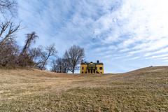 Visitor's Center at Fort Washington Park (edwarddwood) Tags: fortwashington yellowhouse blueskies maryland