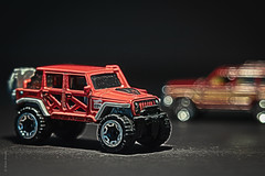 2017 Jeep Wrangler (Wade Brooks) Tags: 2017 toy hotwheels jeep macro toycars wagoneer wrangler artbywadebrooks thetoycarproject toycar