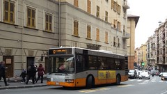 AMT 4591 (Lu_Pi) Tags: amt genova autobus bus bredamenarinibus bmb m231mu amtgenovalinea67 camaldoli sanfruttuoso fieradisantagata deviazioni