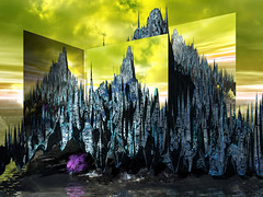 mirror island (j.p.yef) Tags: digitalart island water mirror peterfey jpyef yef fantasy sky aoi elitegalleryaoi bestcapturesaoi
