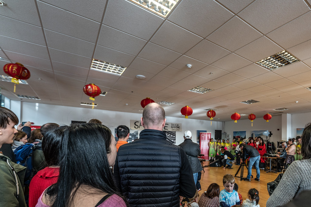 YEAR OF THE PIG - LUNAR NEW YEAR CELEBRATION AT THE CHQ IN DUBLIN [OFTEN REFERRED TO AS CHINESE NEW YEAR]-148903