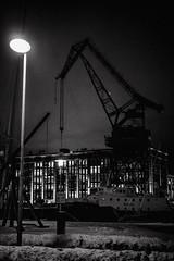 Street lamp (saulgoodman7777) Tags: bw bwphoto street people monochrome finland urban