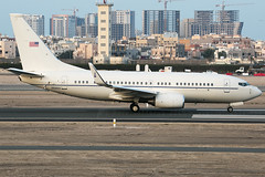 02-0203 C-40 USAF (JaffaPix +5 million views-thanks...) Tags: 020203 c40 usaf b737 737 boeing obbi davejefferys jaffapix jaffapixcom aeroplane aircraft aviation airplane plane planespotting airliner