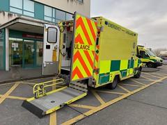At the ER / Casualty Unit (firehouse.ie) Tags: universityhospitalgalway nationalambulanceservice ambo emergencyambulance accidentandemergency casualty er emergencyroom emergency ae sprinter mercedes galway ireland nas hse ems krankenwagen ambulanza ambulans ambulancia ambulances ambulance
