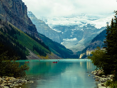 Lake Louise, Banff NP, Alberta, Canada (howard1916 - My Personal 'Explore') Tags: lake lakelouise canada rockies banffnationalpark