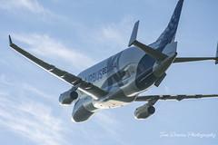Beluga XL (tomdavies19) Tags: avgeek aviation belugaxl plane jet wales uk northwalesairbus a330 beluga wingcarrier big huge nikon d7200 nikond7200 livery runway flypast landing explore aircraft