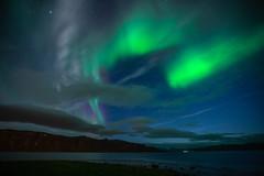 Norway_2018_DSC1401 (Yossef Steinberg) Tags: auroraborealis northenlights sonya7r3 norway water sky reflection color stars north fjords sea aoi elitegalleryaoi bestcapturesaoi