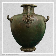 Hydria Kalpis from the Vassil Bojkov Collection (thracefoundation) Tags: ancient art vassilbojkovcollection mythology thrace ancienthistory artifact artefact history thracefoundation ancientgreece hydria ancienthydria
