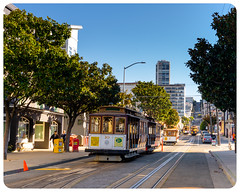 Cable cars (alessio.vallero) Tags: sanfrancisco california unitedstatesofamerica us city street crosswalk sidewalk cable cars