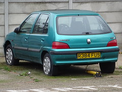 1997 Peugeot 106 XL Independence (Neil's classics) Tags: vehicle 1997 peugeot 106 xl independence 1527cc diesel abandoned