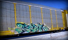 (timetomakethepasta) Tags: sour ibd freight train graffiti art autorack