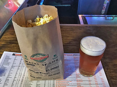Simple Pleasures (craigsanders429) Tags: popcorn bag beer peninsulaohio bar dining ohio food