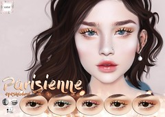 WarPaint @ Uber (Mafalda Hienrichs) Tags: warpaint war paint uber event release new eyeshadow eyeliner parisienne spring pastel citrus catwa genus lelutka applier makeup cosmetics secondlife