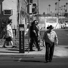 02469376422253-108-19-03-People of Downtown Las Vegas-2-Black and White (Don't Mess With Jim) Tags: nevada lasvegasnevada streetphotography 2018 people monochrome black street canon5dmarkiv tamron2470mmf28divcusdg2