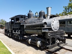 Camino, Placerville and Lake Tahoe No. 2 (SirJuke) Tags: camino placerville lake tahoe 2 shay geared locomotive travel town los angeles steam