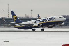 A56A0930@L6 (Logan-26) Tags: boeing 7378as eiexd msn 40320 ryanair riga international rix evra latvia airport aleksandrs čubikins snow winter