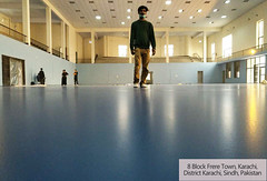 Indoor silicon PU sport court in Pakistan (ssgsportsurface) Tags: ssgsportsurface sportflooring runningtrack basketballcourt sportcourt stadium construction epdm syntheticflooring siliconpu prefabricatedrunningtrack
