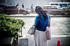(Camera Freak) Tags: 190405shibuyam102019tokyoshibuyaleicam10 90mm summicron leica m10 leicam10 girl longhair denim jacket