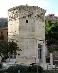Tower of the Winds (2 of 3) (jimsawthat) Tags: ancient stone romanforum towerofthewinds ruins urban athens greece