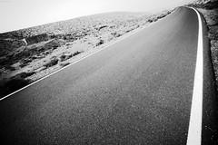 Fuerteventura - road (KnutAusKassel) Tags: bw blackandwhite blackwhite nb noirblanc monochrome black white schwarz weiss blanc noire blanco negro schwarzweiss