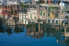 Hafen-Spiegelung (uwe1904) Tags: herbst landschaft mallorca pentaxk1 spanien urlaub uwerudowitz balearen puertodesoller es