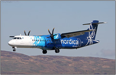 IMG_9550FL13 (Gerry McL) Tags: nordica atr 72 aerospatiale esata flybe glasgow belfast gla egpf aircraft turboprop airplane estonia