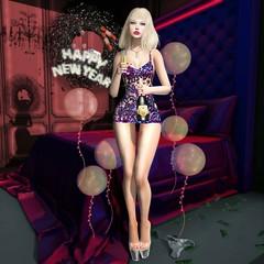 New Year Temptations (KandiHeart SL) Tags: kandi kandiheart sl secondlife second life model party cute temptation