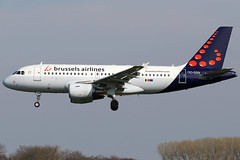 OO-SSN 10042019 (Tristar1011) Tags: ebbr bru brusselsairport brusselsairlines airbus a319100 a319 oossn